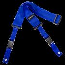 DiMarzio DD2200 2 Inch Nylon Cliplock Strap in Blue