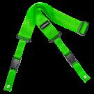 DiMarzio DD2200 2 Inch Nylon Cliplock Strap in Neon Green