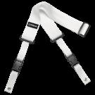 DiMarzio DD2200 2 Inch Nylon Cliplock Strap in White