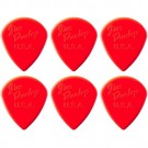 Dunlop Jazz III Red Guitar Pick - 6 Pack