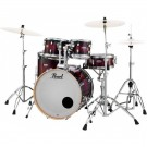 "Pearl Decade Maple 22"" Fusion Plus Drum Kit in Gloss Deep Red Burst"
