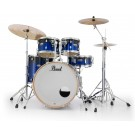 "Pearl Decade Maple 22"" Fusion Plus Drum Kit with Hardware in Kobalt Blue Fade"