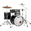 "Pearl Decade Maple 22"" Fusion Plus Drum Kit in Black Ice"