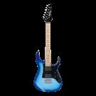 Ibanez Mikro GRGM21M Short Scale Electric Guitar in Blue Burst