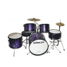DXP TXJ5 Junior Drum Kit in Purple