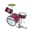 DXP 3pce Junior Drum Kit  Metallic Pink