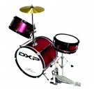 DXP 3pce Junior Drum Kit 3 in Wine Red