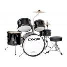 DXP 5 Piece Deluxe Junior Drum Kit Pack in Black