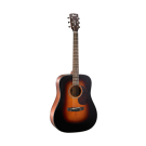 Cort Earth 300VF Left Handed Acoustic Electric Guitar