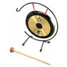 """Mitello 10"""" Gong with Stand and Beater"""