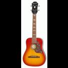 Epiphone Hummingbird Acoustic/Electric Tenor Ukulele Faded Cherry Sunburst