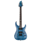 ESP LTD H-401QM Fade Sky Blue