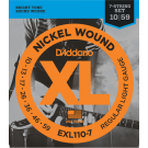 D'Addario EXL110-7 10-59 Electric Guitar Strings