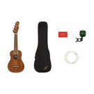Fender Seaside Soprano Ukulele Pack W/Gigbag + Accessories