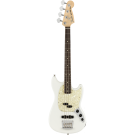 Fender American Performer Mustang Bass in Arctic White