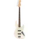 Fender American Pro Jazz Bass with Rosewood Fingerboard in Olympic White