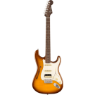 Fender Rarities Stratocaster Thinline HSS with a Solid Rosewood Neck in Violin Burst