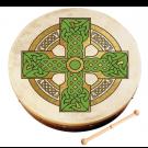 "Waltons 18"" Bodhran Pack Cloghan Cross"