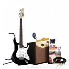 Cort G110 Electric Guitar Pack with CM15R Amp - Black