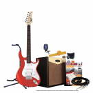 Cort G110 Electric Guitar Pack with CM15R Amp - Scarlet Red