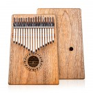 Gecko 17 Note Kalimba with Hollow Resonant Camphor wood Body