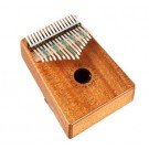 Gecko 17 Note Kalimba with Hollow Resonant Mahogany Body