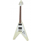 Gibson 70s Flying V Electric Guitar in Classic White