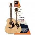 Yamaha FG800 Gigmaker 800 Acoustic Guitar Pack - Gloss Finish