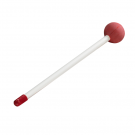 "Remo HK-1241-02 10"" Mallets / Beaters Plasic with Rubber ball (Pair)"