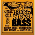 Ernie Ball 45-105 Hybrid Slinky Bass Guitar Strings