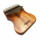 Gecko 17 Note Kalimba with Solid Mahogany Body