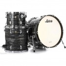 "Ludwig Ringo Starr Beatles Classic Maple Fab 22"" 3-Piece Shell Pack in Vintage Black Oyster"