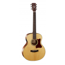 Cort Little CJ Walnut Acoustic Electric Guitar with Bag