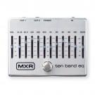 MXR 10 Band Graphic EQ Pedal - Silver