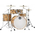 "Mapex Mars 5 Pce  22"" Euro Fast Shell Pack in Driftwood"
