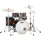 "Pearl Decade Maple 20"" Fusion Drum Kit with Hardware in Satin Brown Burst"