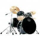 "Mapex Prodigy 5 Pce 20"" Deluxe Bundle Drum Package in Black"
