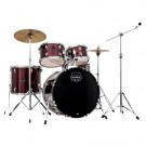 "Mapex Prodigy 5 Pce 20"" Deluxe Bundle Drum Package in Dark Red"