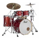 "Pearl Masters Maple Complete 22"" 4pc Drum Kit - Shell Pack in Vermillion Sparkle"