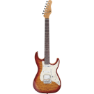 Michael Kelly - 1960s S Style- Electric Guitar 1965  Aged Cherryburst