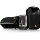 Behringer EPS500MP3 Europort Ultra Compact 500 Watt 8 Channel Portable Pa System