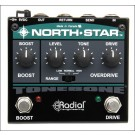 Radial North Star Overdrive and Power Booster Pedal