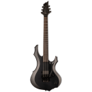 ESP LTD F BLACK METAL Black Satin