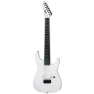 ESP LTD M-7BHT BARITONE ARCTIC METAL Snow White Satin