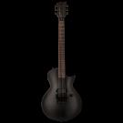 ESP LTD EC-FR BLACK METAL Black Satin