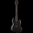 ESP LTD Volsung Lars Frederiksen Signature Viper Electric Guitar in Distressed Satin Black