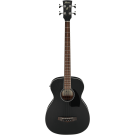 Ibanez PCBE14MH WK Acoustic Electric Bass Guitar in Weathered Black