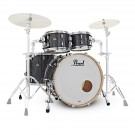 Pearl Masters Maple Gum 4 Piece Shell Pack in Black Diamond Pearl