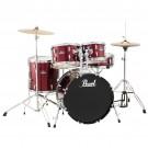 Pearl Roadshow 5pce Junior Drum Kit in Wine Red