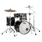 "Pearl Decade Maple 20"" Fusion Drum Kit with Hardware in Black Ice"